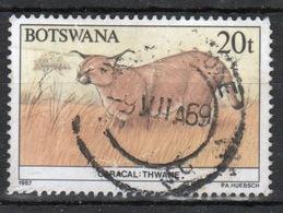 Botswana 1987 Single 20t Commemorative Stamp From The Animals Of Botswana Set. - Botswana (1966-...)