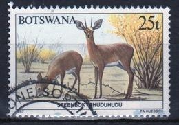 Botswana 1987 Single 25t Commemorative Stamp From The Animals Of Botswana Set. - Botswana (1966-...)