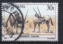 Botswana 1987 Single 30t Commemorative Stamp From The Animals Of Botswana Set. - Botswana (1966-...)