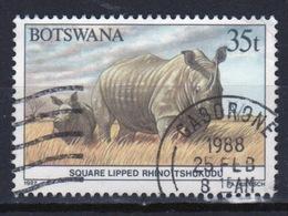 Botswana 1987 Single 35t Commemorative Stamp From The Animals Of Botswana Set. - Botswana (1966-...)