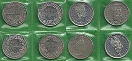 SVIZZERA 1968 1974 (2) 1988 - Helvetia - N.° 4 X 2 Fr / CHF - BB / SPL / FDC - Con Varietà ? - Confezione In Bustina - Svizzera