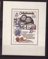 Chechoslowakia 1979, S/s Space, Miblock 39, MNH. Cv 6 Euro - Blocs-feuillets