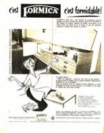 "PUB   "" FORMICA  ""   1955 ( 3 ) - Meubles"