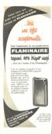 """PUB BRIQUET  """" FLAMINAIRE """"  1955 (2) - Briquets"""