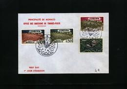 Monaco 1962 Europa Cept Michel 695-698 FDC - Monaco