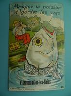 ST/202 - 14 -Arromanches  - Pêche Au Gros - Artaud Années 40- - Arromanches
