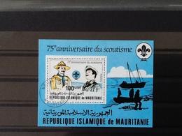 Mauritanië Block 75th  Anniversary Scoutisme. - Mauritanie (1960-...)