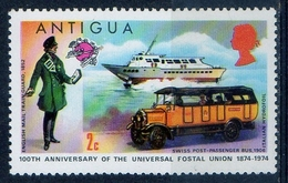 Antigua 1974 - Centenario Dell'UPU UPU Centenary - Posta