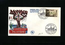Monaco 1962 Malaria Michel 692 FDC - Krankheiten