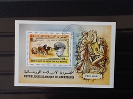 Mauritanië Block  Nobel Peace Price. - Mauritanie (1960-...)