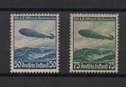 IIIème  REICH  -  1936  --   Farten  Des  Luftschiffs  Hindenbourg . - Nuevos