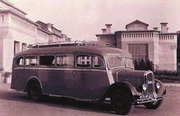 Ancien Autobus Rochet-Schneider En 1935    -  15x10 PHOTO - Buses & Coaches