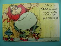 ST/203 - 17 - Châtelaillon  - AZAÏA Danseuse Du Ventre - Artaud Avant 1950- - Châtelaillon-Plage