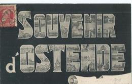 Oostende - Ostende - Souvenir D'Ostende - 1900 - Oostende