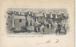 Oostende - Ostende - 29 - La Plage à L'Heure Des Bains - ND Phot - 1901 - Oostende