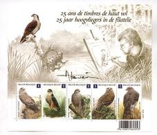 25 Jaar/ans   Hoogvliegers In De Filatelie / Timbres De Haut Vol     2010 - Postzegelboekjes 1953-....