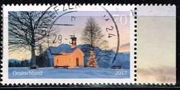 Bund 2017, Michel# 3344 O Weihnachtliche Kapelle - BRD