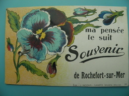 ST/206 - 17 -Rochefort Sur Mer - Ma Pensée Te Suit - Artaud Avant 1950- - Rochefort