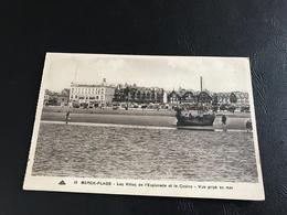 15 - BERCK PLAGE Les Villas De L'Esplanade Et Le Casino - Vue Prise En Mer - Timbrée - Berck