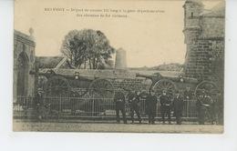 BELFORT - Départ De Canons 155 Long à La Gare Départementale Des Chemins De Fer Vicinaux - Belfort - Ville