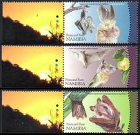 Namibie Namibia 1264/66 Chauve-souris - Fledermäuse