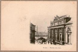 76 / ROUEN - Théâtre Des Arts Et Abords (précurseur) - Rouen