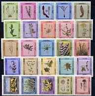 Kuwait 1983 Desert Plants Complete Set Of 50 In 5 Se-tenant Strips SG 946-95 - Koweït