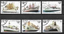 CUBA 1976 NAVI DA TRASPORTO MERCI YVERT. 1956-1961 USATA VF - Cuba