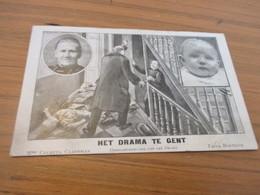 Gand, Gent, Het Drama Te Gent, Hersamenstelling Van Het Drama - Gent