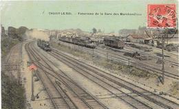 94 CHOISY LE ROI - Panorama De La Gare Des Marchandises - Trains - Couleurs, Toilée - Choisy Le Roi