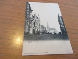 Gand, Gent, Marche Au Beurre, Edit Wilhelm Hoffmann - Gent