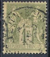 N°82 NUANCE ET OBLITERATION. - 1876-1878 Sage (Type I)