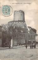 CPA Chatillon Vieux Donjon (animée) F12 - Other Municipalities