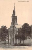 CPA Anjouin L'église (animée) F13 - France