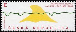 Czech Republic - 2018 - Czech Design - Jan Kaplický - National Library - Mint Stamp - Tsjechië