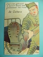 ST/208 - 46 - CAHORS - Militaire Bidasse & Godasse - Artaud Avant 1950- - Cahors