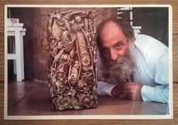 Carte Postale / Sculpteur César St Paul De Vence - Sculptures