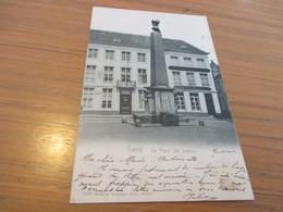 Gand, Gent, La Place Du Sablon, Edit Wilhelm Hoffmann - Gent