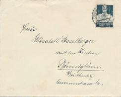 Deutsches Reich - 1935 - 20Pf Nothilfe On Cover From Ludwigsburg To Bönnigheim - Germany