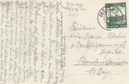 Deutsches Reich - 1935 - 6Pf Eisenbahn On Postkarte From Passau - Storia Postale