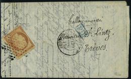 Lettre Le Général Daumesnil, Départ 20.11.71, Agence Havas édition Allemande Aff. à 40c Pour Treves, T.B. Signé Calves - Francobolli