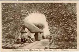 Environs Du Camp D'ELSENBORN - Maison Dans L'Eifel - Edit. : Marx & Niessen, Elsenborn Camp - Oblitération De 1937 - Elsenborn (Kamp)