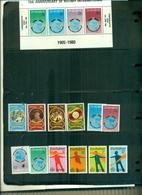 ZIMBABWE 75 ROTARY - 75 SCOUTS - ANNEE DES HANDICAPES 12 VAL +  BF NEUFS A PARTIR DE 0.75 EUROS - Zimbabwe (1980-...)