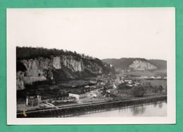 76 Seine Maritime Tancarville Photo Noir Et Blanc Non Datée Format 9cm X 13cm - Lieux