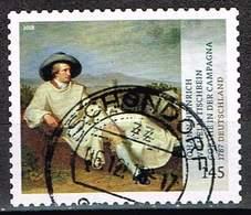 Bund 2018, Michel# 3397 O Schätze Aus Dt. Museen: Goethe In Der Campagne Selbsklebend - [7] République Fédérale