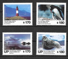 ARGENTINA 2019 FAUNA BIRD PENGUIN ANTARCTICA STATION,LEUCHTURM END OF WORLD MNH - Pinguïns & Vetganzen