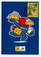 - Carte Postale COUPE DU MONDE DE FOOTBALL FRANCE 98 - Equipe De NANTES - - World Cup