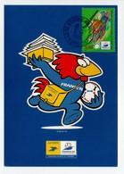 - Carte Postale COUPE DU MONDE DE FOOTBALL FRANCE 98 - Equipe De SAINT-ETIENNE - - World Cup