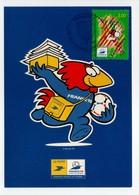 - Carte Postale COUPE DU MONDE DE FOOTBALL FRANCE 98 - Equipe De SAINT-DENIS - - World Cup