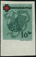 Neuf Avec Charnière N° 41. 10p + 20 Croix-Rouge, Non Dentelé, Gommé, Cl, Bdf, T.B. Signé Bach. Michel N° 42U. - Francobolli